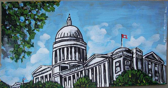 Arkansas State Capitol by Mitchell McClenney