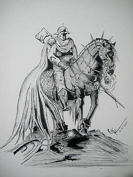 Armour and the horse by Umme Kulsoom