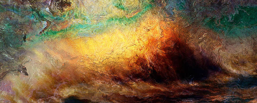 Arrival - Abstract Art by Jaison Cianelli