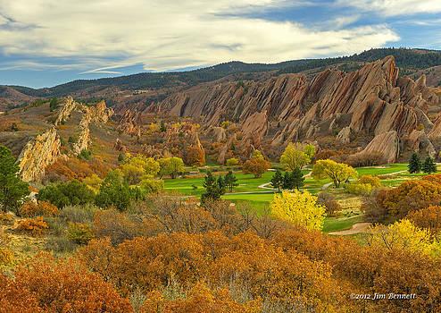 Arrowhead Autumn Color by Jim Bennett