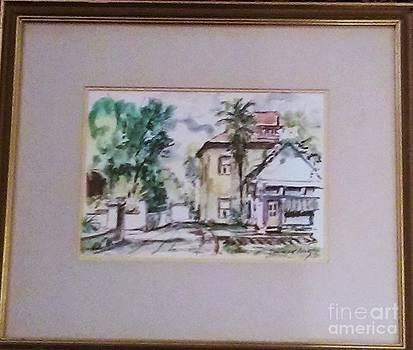 Art Associates League Charlotte St St Augustine FL by John Emmett Fritz