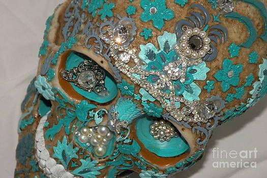 Art Skull Gems  by Rita H Ireland
