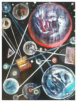 Artds - the Galaxy  by Souad Dehhani