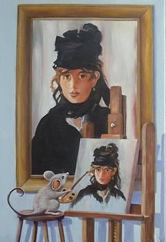 Artemouse's Berthe Morisot by Debbie Patrick