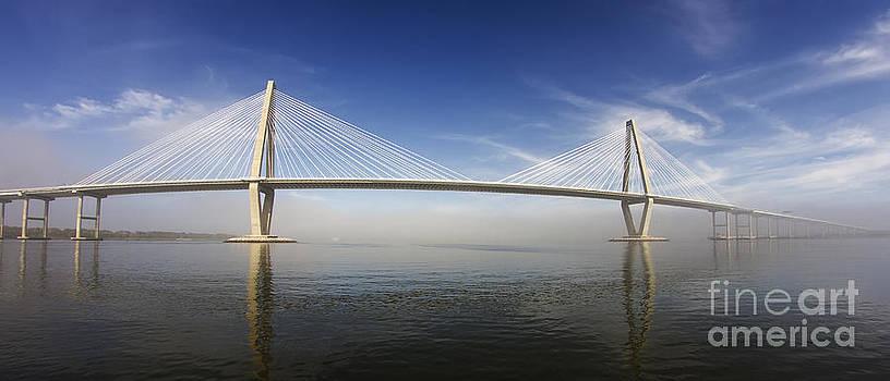 Arthur Ravenel Bridge Cooper River Charleston by Dustin K Ryan