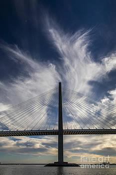 Arthur Ravenel JR  Bridge Cooper River Charleston by Dustin K Ryan