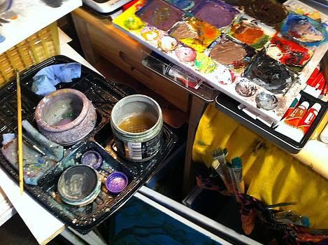 Artist's Office by Ginger Bear