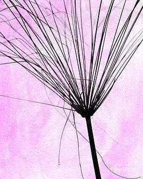 Sabrina L Ryan - Artsy weed in Pink