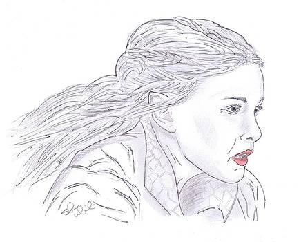 Arwen Riding by Steven White