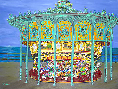 Asbury Park Yesteryear by Norma Tolliver