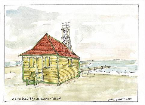 Ashbridges Bay Lifeguard Station by David Dossett