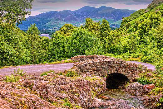 Ashness Bridge Cumbria by Graham Hawcroft pixsellpix