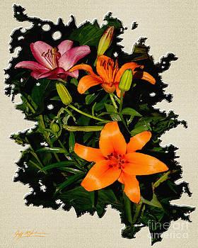 Jeff McJunkin - Asiatic Lilies Orange