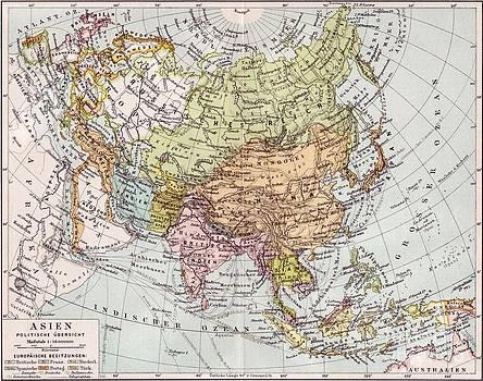 Reproduction - Asien - Politische Ubersicht