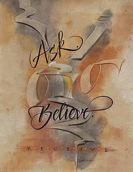 Ask Believe Receive by Sally Penley