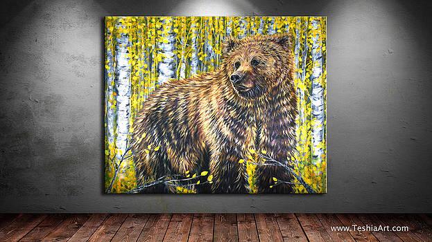 Teshia Art - Aspen Bear