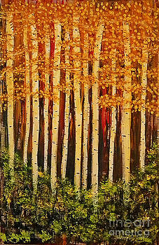Aspen Grove  by Sherry Flaker