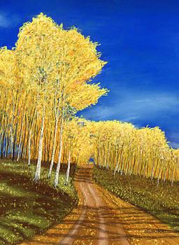 Aspen Road by George Burr