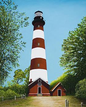 Assateague Lighthouse by Mary Ann King