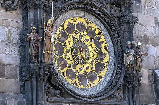 Astronomical clock calendar. by Fernando Barozza