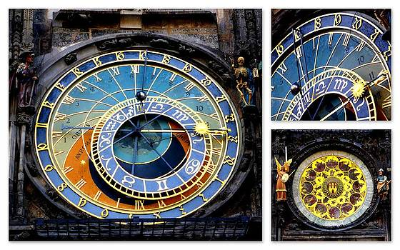 Astronomical Clock Prague by The Creative Minds Art and Photography