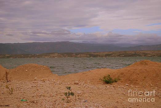 At the Lake Haiti  by Tracey Hampton