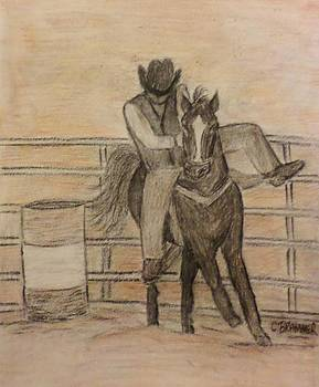 At the Rodeo by Christy Saunders Church