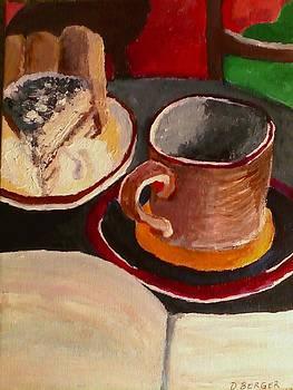At Witches Brew Tiramisu Coffee And Writing Too by Darlene Berger