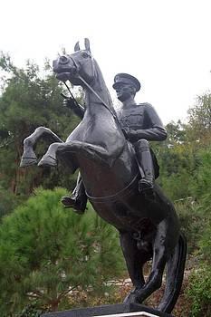 Tracey Harrington-Simpson - Ataturk on Horseback