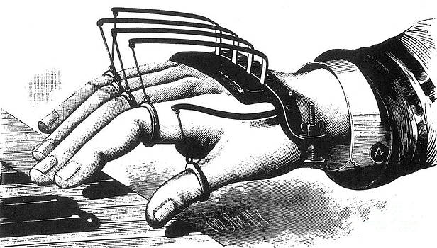 Science Source - Atkins Finger-supporting Device 1881