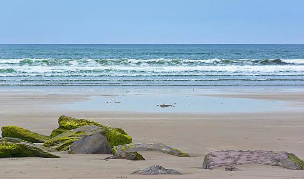 Jane McIlroy - Atlantic Waves on Inch Beach
