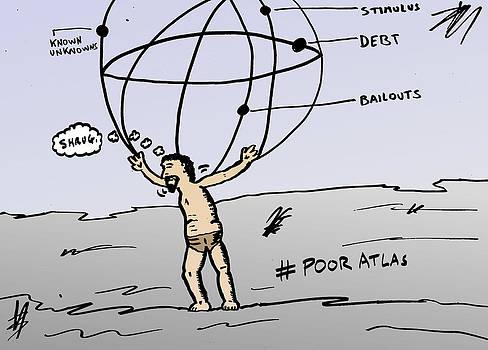 Atlas Shrugs econ cartoon by OptionsClick BlogArt