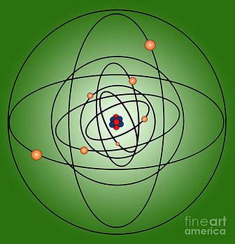 Science Source - Atomic Structure Model