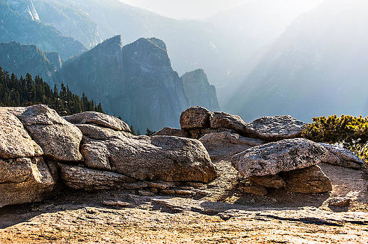 Atop Sentinel Dome by Kay Price