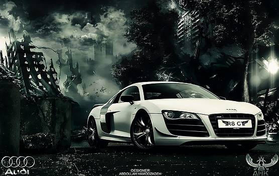 Audi R8 by AHK by Abdollah Hamodzadeh