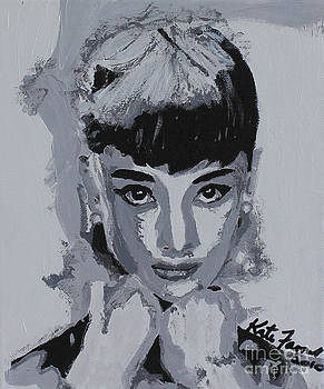 Audrey Hepburn by Kate Farrant