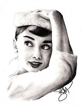 Audrey Hepburn 2 by Rosalinda Markle