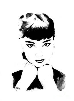 Audrey Hepburn by Andrea Realpe