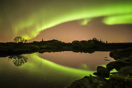 Aurora beauty by Petur Mar Gunnarsson