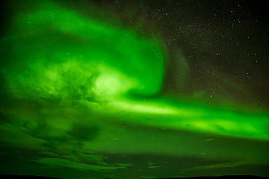 Aurora Borealis Swag by Petur Mar Gunnarsson