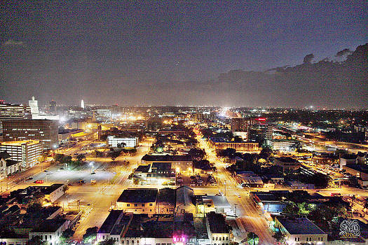 Austin City Lights by Jay D Anderson