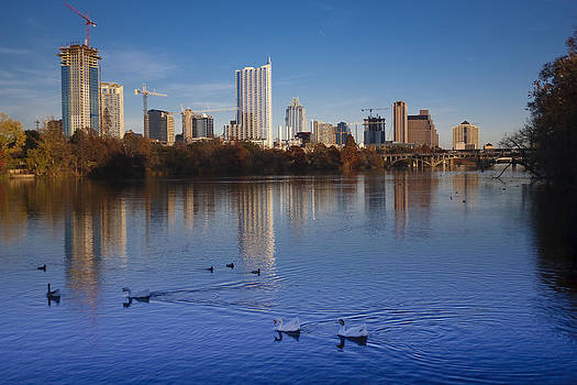 Austin Skyline Early Evening by Mark Weaver