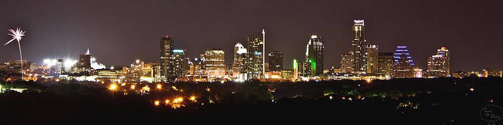 Austin Skyline by Tejas Prints