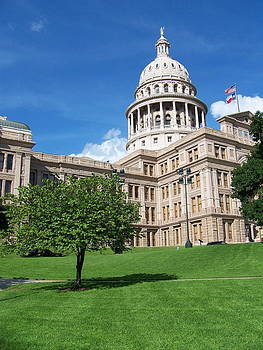 Austin Texas Capitol Building by Cherie Haines