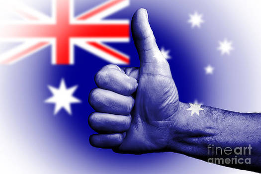 Australia the great by Anthony Morgan