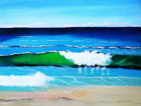 Australian Coastline by Gloria Dietz-Kiebron