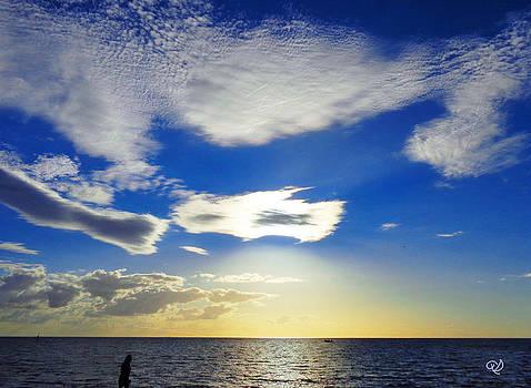 Australian Sommer Sky by Ute Posegga-Rudel