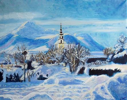 Austrian village by Elena Sokolova