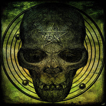 Chris Lord - Authentic Skull of the Vampire Callicantzaros