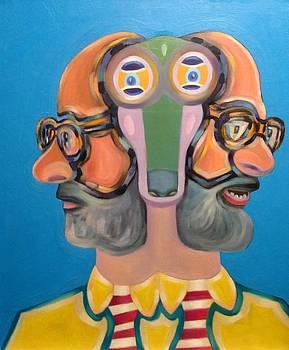 Autoportret  by Wal Jarosz